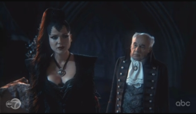 Evil Queen and father episode 1x2 Once Upon a Time