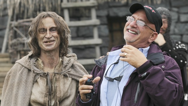 Robert Carlyle and Michael Waxman Episode 8 Once Upon a Time