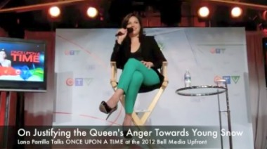 Lana Parrilla (Regina, Evil Queen) talks about Once Upon a Time