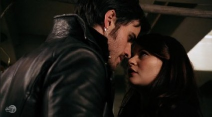 Hook tells Belle the truth about Rumple