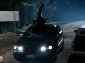 "Car hitting Hook at the end of 2x11 """"The Outsider"""
