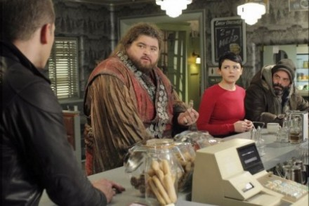 Jorge Garcia as Giant in Storybrooke