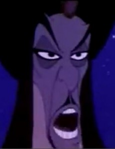 Jafar in Disney's Aladdin
