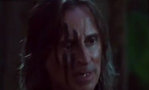 "Rumpelstiltskin with face paint in 3x04 ""Nasty Habits"""
