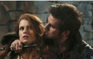 "Hook and Ariel in ""Jolly Roger"" aired 4/13/14"